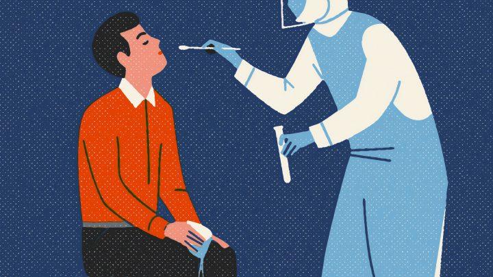 Hvad gør klubben, hvis et medlem bliver smittet?