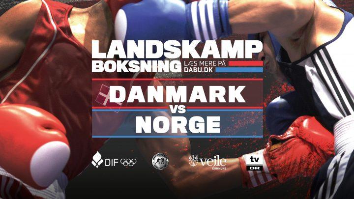 Landskampen 31/10 mod Norge er aflyst