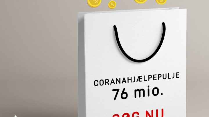 DIF og DGI's coronahjælpepulje åbner igen 12/10