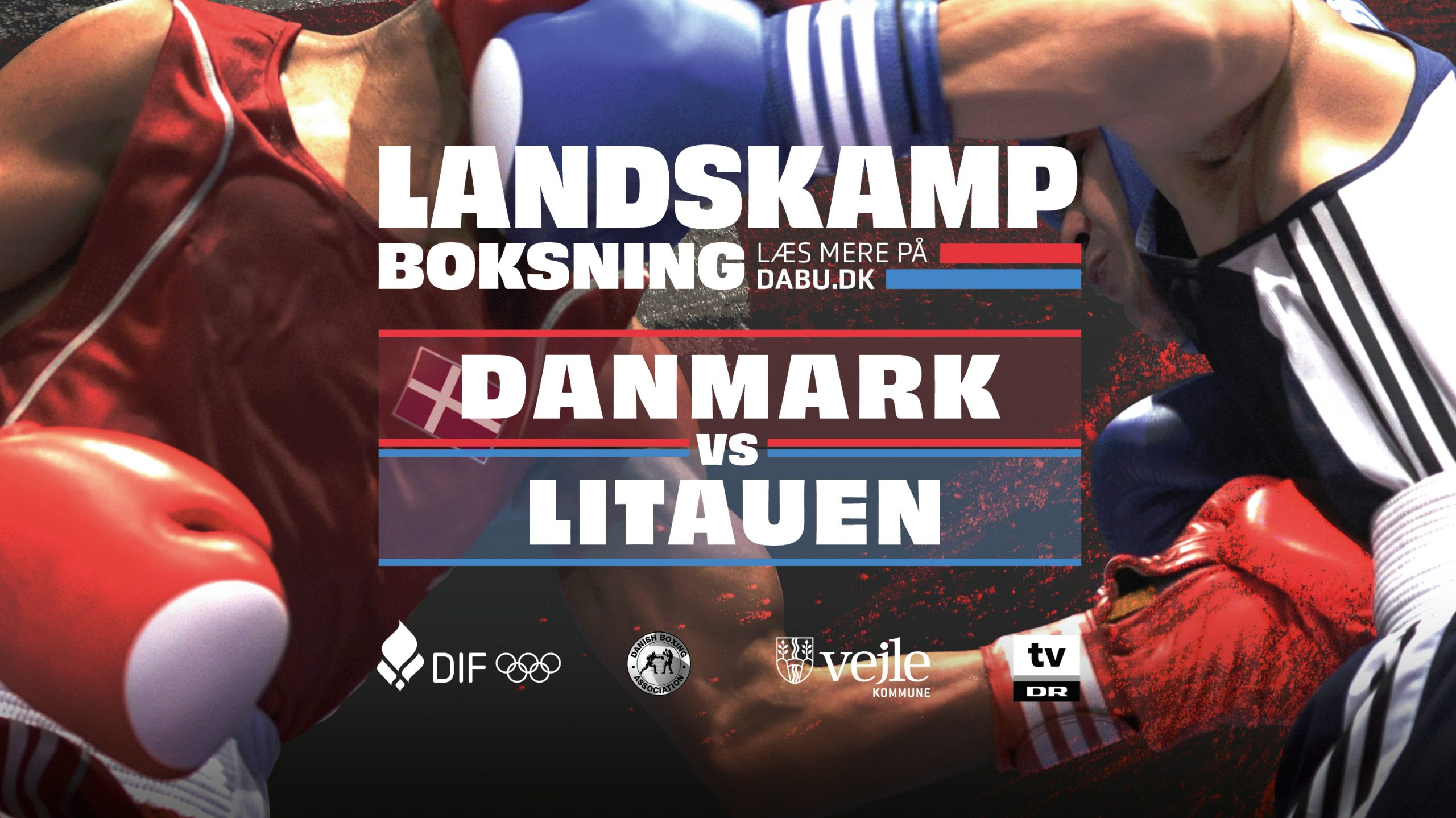 Landskamp Boksning - Danmark vs Litauen - Billetto banner