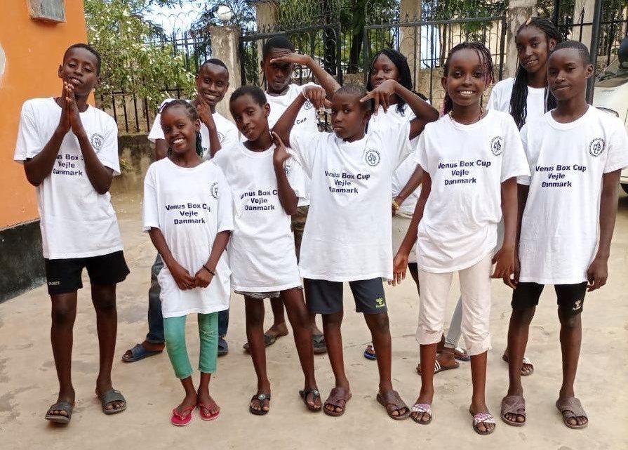 Brugt dansk bokseudstyr får nyt liv i Kenya