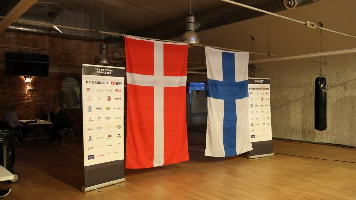 Landskampen ¨Danmark VS Finland¨ fortalt i billeder