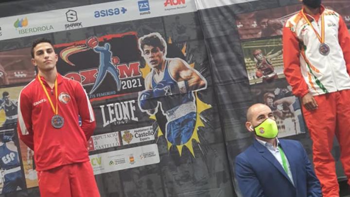 Nikolai Terteryan vinder sølv ved Box'am 2021