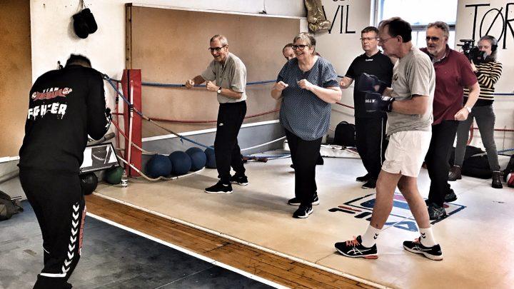Økonomisk opbakning til Parkinson Boxing